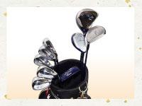 買取実績-ウィルソン ティアラ 女性用 ゴルフクラブセット