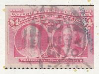 買取実績-Isabella and Columbus 4ドル 1893年
