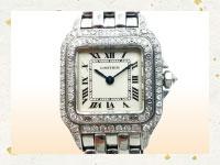 買取金額-カルティエ 二重ダイヤベゼル時計