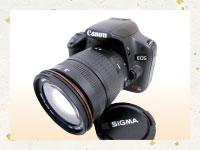 買取実績-カメラCanon EOS kiss X3 200mmレンズ KCR005