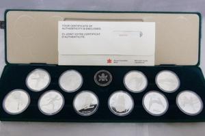 カナダ カルガリーオリンピック20ドル銀貨セット