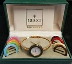 promo code 78fa0 6ddab 買取のたくみや   グッチGUCCI 腕時計 チェンジベゼル